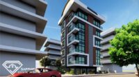 Close to the beach apartments for sale in the center of Alanya SE-0038